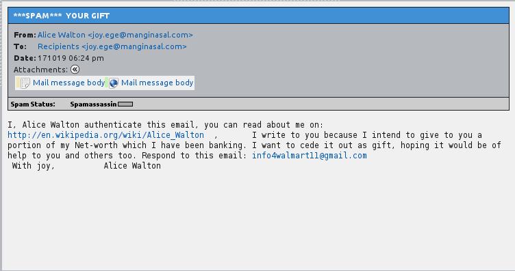 really dumb spam